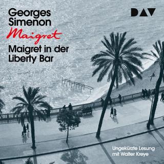 Georges Simenon: Maigret in der Liberty Bar (Ungekürzt)