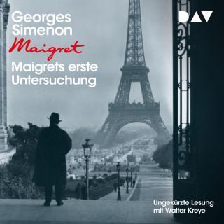 Georges Simenon: Maigrets erste Untersuchung (Ungekürzt)