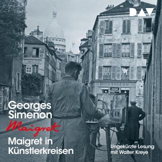 Georges Simenon: Maigret in Künstlerkreisen (Ungekürzt)