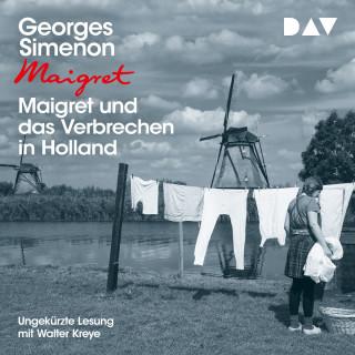 Georges Simenon: Maigret und das Verbrechen in Holland (Ungekürzt)