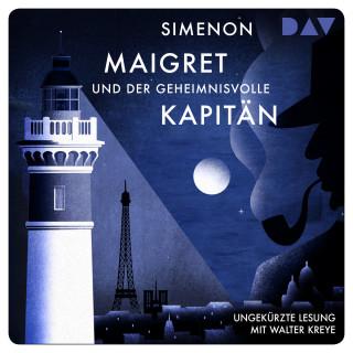 Georges Simenon: Maigret und der geheimnisvolle Kapitän (Ungekürzt)