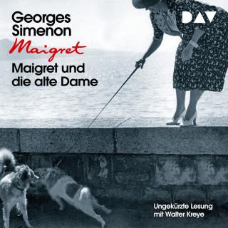 Georges Simenon: Maigret und die alte Dame (Ungekürzt)