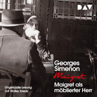 Georges Simenon: Maigret als möblierter Herr (Ungekürzt)