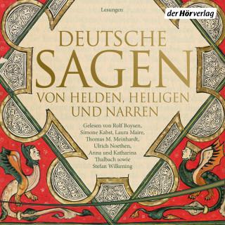 Ludwig Bechstein, Brüder Grimm: Deutsche Sagen von Helden, Heiligen und Narren