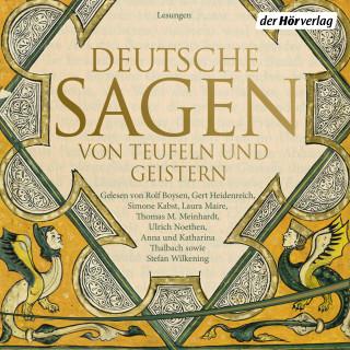 Ludwig Bechstein, Brüder Grimm: Deutsche Sagen von Teufeln und Geistern