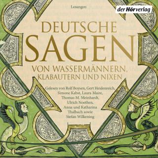 Brüder Grimm, Johann Georg Theodor Grässe: Deutsche Sagen von Wassermännern, Klabautern und Nixen