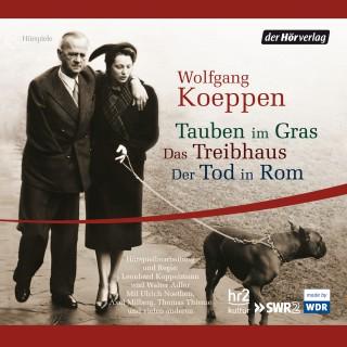 Wolfgang Koeppen: Tauben im Gras/Das Treibhaus/Der Tod in Rom