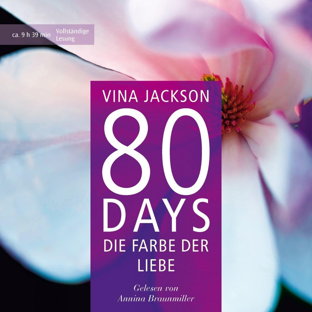 80 days die farbe der liebe vina jackson h. Black Bedroom Furniture Sets. Home Design Ideas