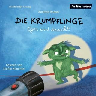 Annette Roeder: Die Krumpflinge - Egon wird erwischt!