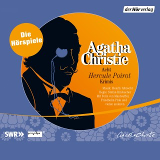 Agatha Christie: Acht Hercule Poirot Krimis