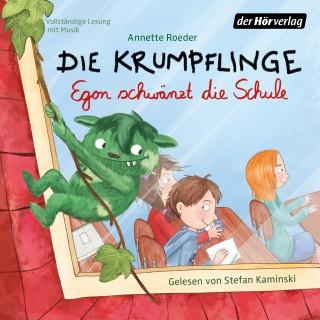 Annette Roeder: Die Krumpflinge - Egon schwänzt die Schule