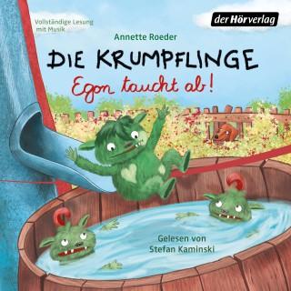 Annette Roeder: Die Krumpflinge - Egon taucht ab