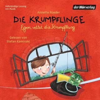 Annette Roeder: Die Krumpflinge - Egon rettet die Krumpfburg