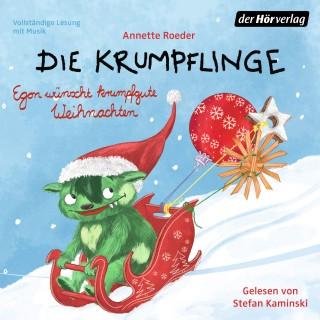 Annette Roeder: Die Krumpflinge - Egon wünscht krumpfgute Weihnachten