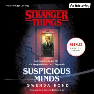 Gwenda Bond: Stranger Things: Suspicious Minds - DIE OFFIZIELLE DEUTSCHE AUSGABE – ein NETFLIX-Original