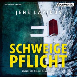 Jens Lapidus: Schweigepflicht