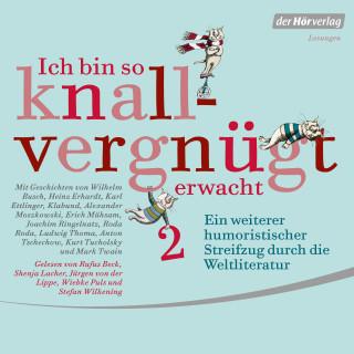 Wilhelm Busch, Heinz Erhardt, Joachim Ringelnatz, Ludwig Thoma, Kurt Tucholsky, Mark Twain: Ich bin so knallvergnügt erwacht 2