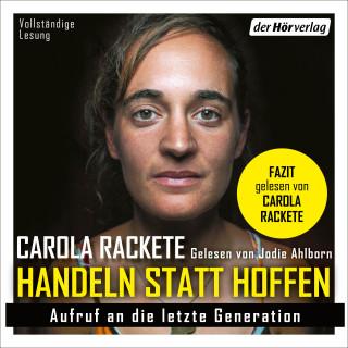 Carola Rackete: Handeln statt Hoffen
