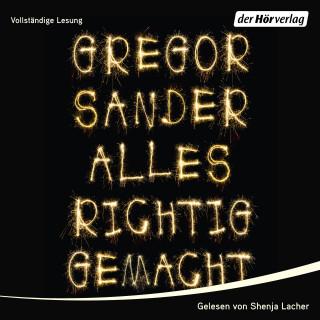Gregor Sander: Alles richtig gemacht