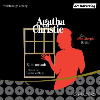 Agatha Christie: Ruhe unsanft