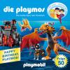 Simon X. Rost, Florian Fickel: Die Playmos - Die heiße Spur der Drachen (Folge 50)