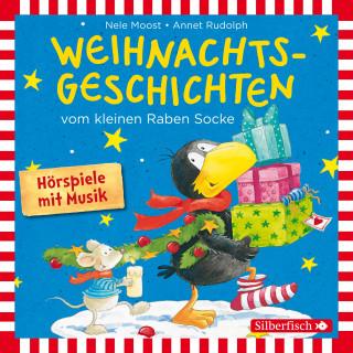 Nele Moost, Annet Rudolph: Weihnachtsgeschichten vom kleinen Raben Socke