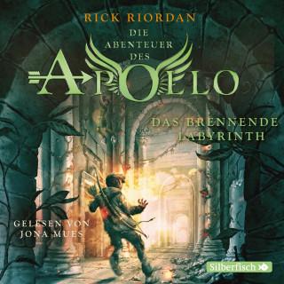 Rick Riordan: Das brennende Labyrinth