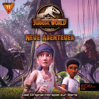 Jurassic World: Folge 11: Im Auge des Sturms / Langenstreckenlauf (Das Original-Hörspiel zur TV-Serie)