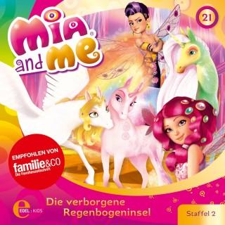 Mia and me: Folge 21: Die verborgene Regenbogeninsel (Das Original-Hörspiel zur TV-Serie)