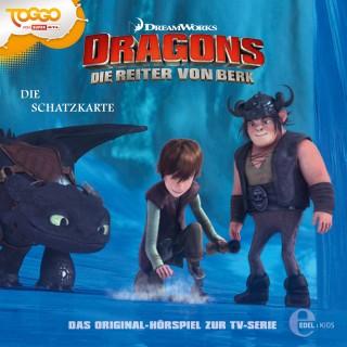 Dragons - Die Reiter von Berk: Folge 4: Die Schatzkarte (Das Original-Hörspiel zur TV-Serie)