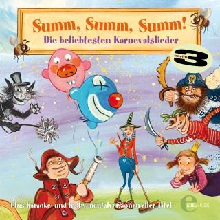 3Berlin, Summ, Summ, Summ!: Die beliebtesten Karnevalslieder
