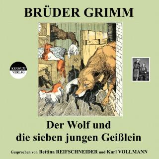 Brüder Grimm: Der Wolf und die sieben jungen Geißlein