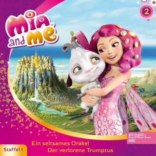 Mia and me: Folge 2: Ein seltsames Orakel / Der verlorene Trumptus (Das Original-Hörspiel zur TV-Serie)