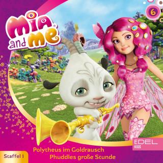 Mia and me: Folge 6: Polytheus im Goldrausch / Phuddles große Stunde (Das Original-Hörspiel zur TV-Serie)