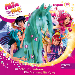 Mia and me: Folge 36: Ein scheues Einhorn / Ein Diamant für Yuko (Das Original-Hörspiel zur TV-Serie)