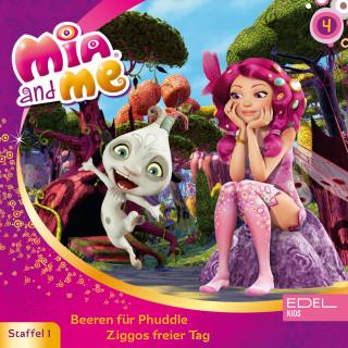 Mia and me: Folge 4: Beeren für Phuddle / Ziggos freier Tag (Das Original-Hörspiel zur TV-Serie)