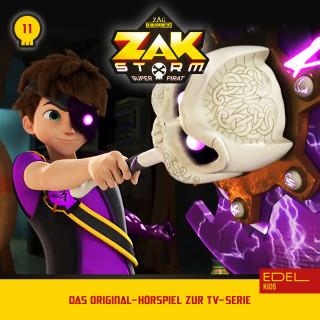 Zak Storm: Folge 11: Der verzauberte Krogar / Der Wegpunkt von Aeria (Das Original-Hörspiel zur TV-Serie)