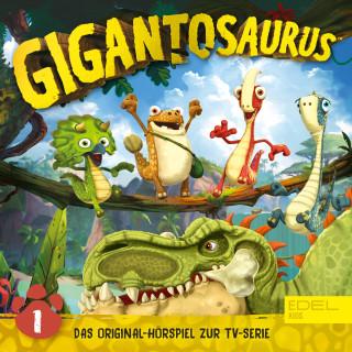 Gigantosaurus: Folge 1: Mazus Mutprobe (Das Original-Hörspiel zur TV-Serie)