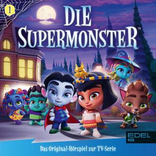Die Supermonster: Folge 1: Willkommen bei den Supermonstern (Das Original-Hörspiel zur TV-Serie)