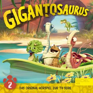 Gigantosaurus: Folge 2: Die geheimnisvolle Höhle (Das Original-Hörspiel zur TV-Serie)