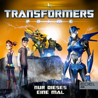 Transformers: Prime: Folge 4: Nur dieses eine Mal (Das Original-Hörspiel zur TV-Serie)
