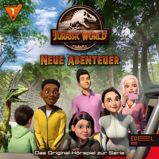 Jurassic World: Folge 1: Camp Kreidezeit / Geheimnisse (Das Original-Hörspiel zur TV-Serie)