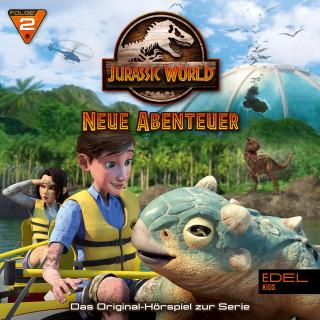 Jurassic World: Folge 2: Viehtrieb / Abgründe (Das Original-Hörspiel zur TV-Serie)