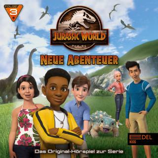 Jurassic World: Folge 3: Eddies Geburtstag / Willkommen in Jurassic World (Das Original-Hörspiel zur TV-Serie)