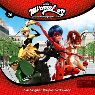 Miraculous: Folge 26: Tag der Helden - Teil 1+2 (Das Original-Hörspiel zur TV-Serie)
