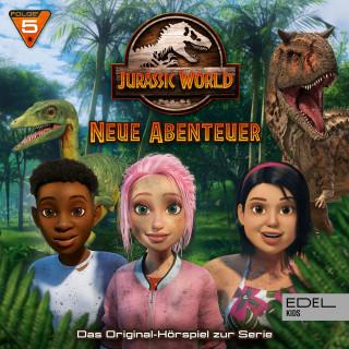 Jurassic World: Folge 5: Ein Fünkchen Hoffnung / Die Kunst der Ruhe (Das Original-Hörspiel zur TV-Serie)
