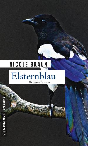 Nicole Braun: Elsternblau