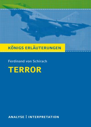 Thomas Möbius, Ferdinand von Schirach: Terror. Königs Erläuterungen.