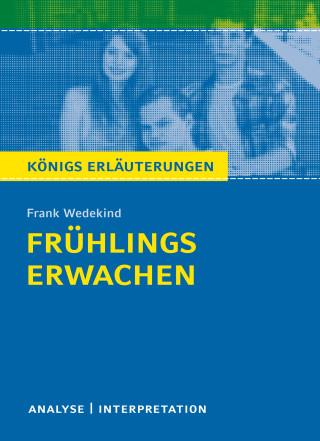 Frank Wedekind, Thomas Möbius: Frühlings Erwachen von Frank Wedekind.