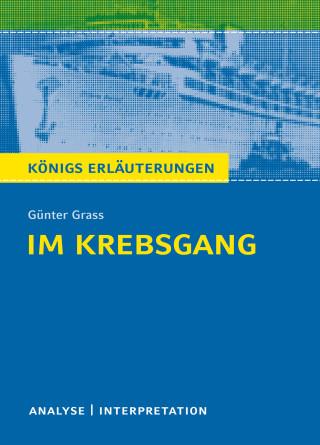 Günter Grass, Rüdiger Bernhardt: Im Krebsgang